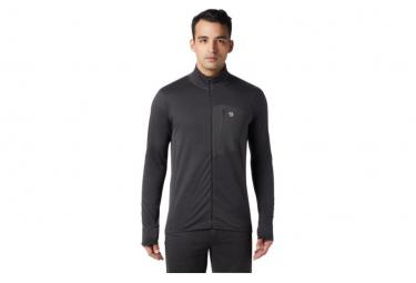 Fleece Mountain Hardwear Type 2 Fun Chaqueta Con Cremallera Completa Negra Xl
