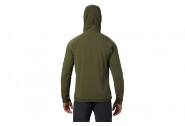 Veste Softshell Mountain Hardwear Keele Hoody Noir Vert