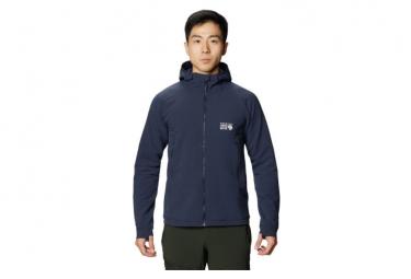 Chaqueta Softshell Con Capucha Mountain Hardwear Keele Ascent Negro S