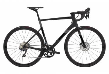 Vélo de Route Cannondale SuperSix EVO Carbon Disc Ultegra Shimano Ultegra 11V 700 mm Noir Mat