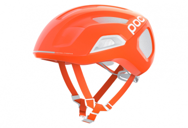 Casco Poc Ventral Tempus Spin Blanc / Orange / Fluo