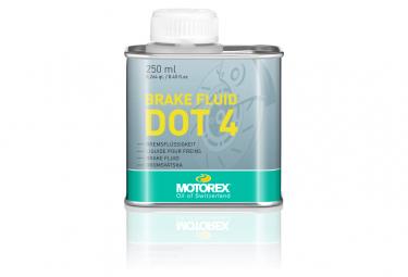 Liquide de Frein Motorex Brake Fluid DOT 4 250 ml