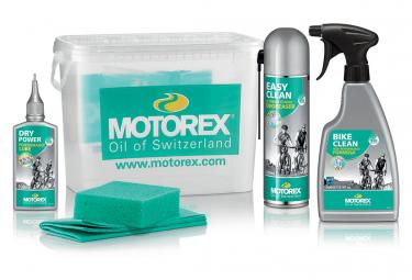 Cubo Del Kit De Limpieza De Bicicletas Motorex