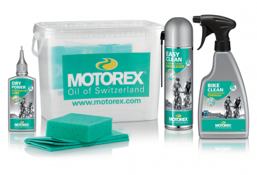 Kit de Nettoyage Motorex Bike Cleaning Kit