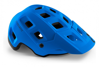Casco All Moutain Met Terranova Azul Marino Mate M  56 58 Cm