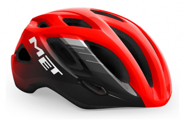 Casque Route Met Idolo Glossy Rouge Noir 2021