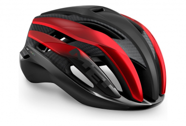 Casco Met Trenta 3K Carbon Noir / Rouge