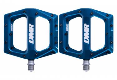 Paire de Pédales Plates DMR Vault Bleu