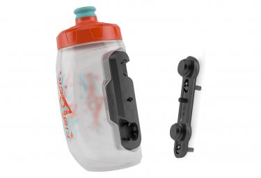 Bidon Fidlock Twist Bottle 450 Kids 450 ml + Fixation Bike Base Orange Bleu