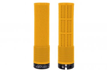 DMR DeathGrip Flangeless Grips Yellow