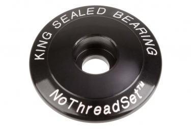 Chris King 1-1 / 8 '' Steering Cover Black