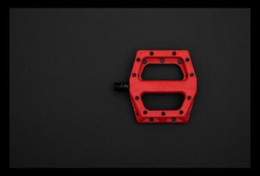 Paire de Pédales Plates DMR V11 Rouge