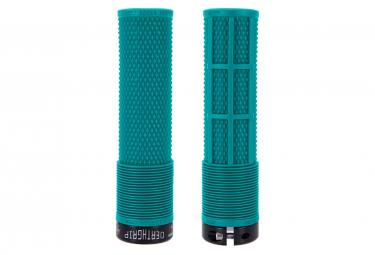 Paire de Grips DMR DeathGrip Flangeless Bleu Tribe