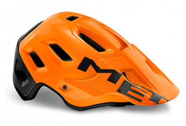 Casco Met Roam Mips All Moutain Naranja Mate Brillante Negro 2021 S  52 56 Cm