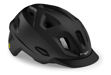Erfüllt Mobilite Mips Urban Helm Mattschwarz 2021