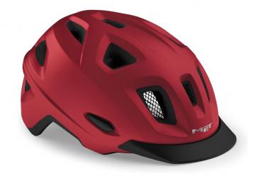 Erfüllt Mobilite Urban Helm matt rot metallic 2021