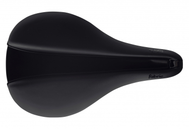 Selle Fabric Line-S Elite Flat Noir
