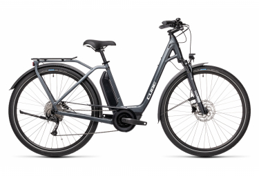 Cube Town Sport Hybrid One 500 Easy Entry Womens E-Bike  Gris
