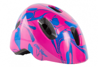 Bontrager Little Dipper Helm Pink Blue Kids