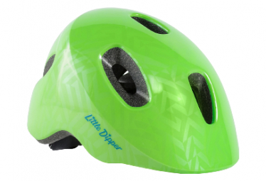 Bontrager Little Dipper Sichtbarkeit Green Kids Helm