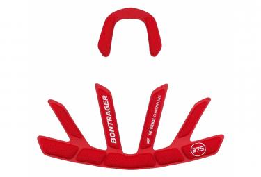 Coussinet pour casque de vélo Bontrager Velocis MIPS Rouge