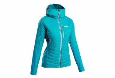 Doudoune Hybride d'Alpinisme Simond Sprint Bleu Femme