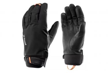 Gant d'Alpinisme Imperméable Simond Sprint Noir