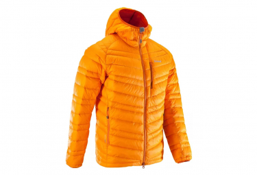 Doudoune duvet d'alpinisme Simond Alpinism Light Orange Homme