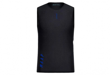 Camiseta interior maap team base layer sin mangas negro m
