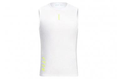 Camiseta Interior Maap Team Base Layer Sin Mangas Blanco S
