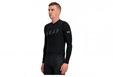 MAAP Echo Pro Base Long Sleeve Jersey Black