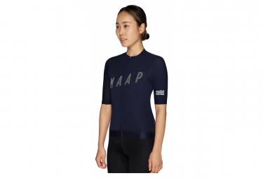 MAAP Echo Pro Base Women's Short Sleeve Jersey Blue