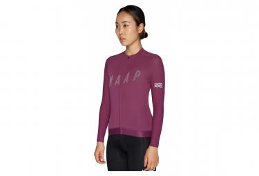 MAAP Echo Pro Base Women's Long Sleeve Jersey Purple