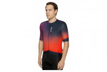 MAAP Flare Pro Fit Short Sleeve Jersey Purple