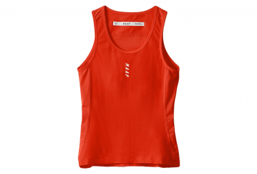Camiseta Sin Mangas Para Mujer Maap Team Base Layer Chilli Xs