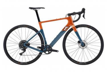 Gravel Bike 3T Exploro Race Shimano GRX 1 11V 2021 Orange / Grau