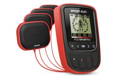Multisport pro abdominal électrodes muscles longs Sport-Elec Electrostimulation