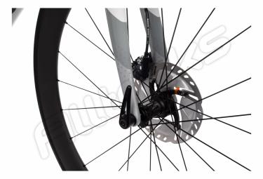 Bicicleta de carretera Cervélo R5 Disc Shimano Ultegra Di2 8070 11V Blanco / Plata 2021