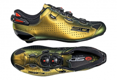 Chaussures Route Sidi Shot 2 Limited Edition Or