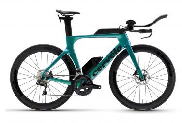 Vélo de Triathlon Cervélo P-Series Disc Shimano Ultegra Di2 R8050 11V Caméléon/Bleu 2021