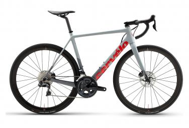 Vélo de Route Cervélo R-Series Disc Shimano Ultegra Di2 R8050 11V Gris/Rouge 2021