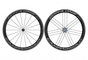 Juego de ruedas Campagnolo Bora One 50 Dark | 9x100 - 9x130mm | Patines