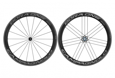 Paire de Roues Campagnolo Bora One 50 Dark | 9x100 - 9x130mm | Patins