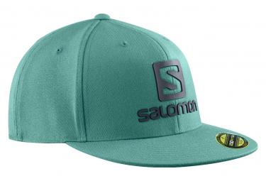 Casquette Salomon Logo Cap FlexFit Vert Homme