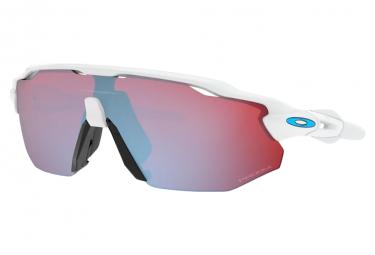 Oakley Radar Ev Advancer Damen Sonnenbrille Weiß poliert / Prizm / Schneesaphir / Ref.OO9442-1038