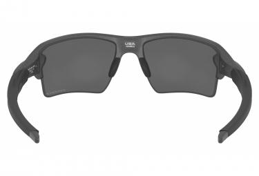 Lunettes Oakley Flak 2.0 XL Steel | Prizm Black Irridium Polarisé | OO9188-F8