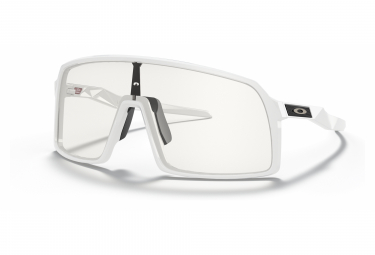 Lunettes Oakley Sutro Polished Blanc / Clear / Ref. OO9406-5437