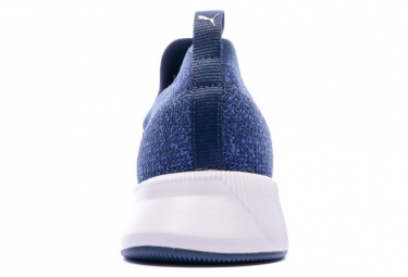 Basket Bleue homme Puma Flyer Runner Engineer Knit