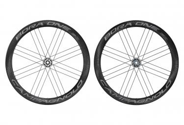 Juego de ruedas Campagnolo Bora One 50 Dark Disc | 12x100 - 12x142mm | Centerlock