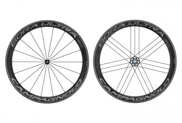 Campagnolo Bora Ultra 50 Dark Tubular Wheelset | 9x100 - 9x130mm | Rollschuhe